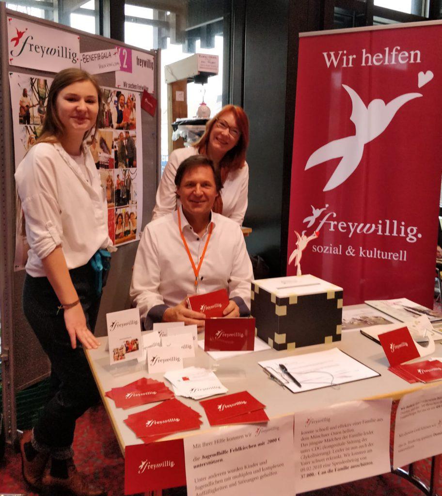 Freywillig auf der Münchner Freiwilligen Messe